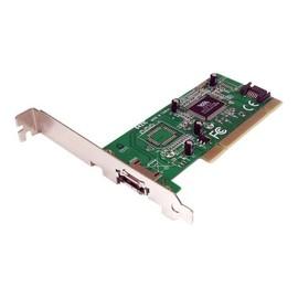 StarTech.com 1 Port eSATA/ SATA Controller PCI Schnittstellenkarte inkl. Low Profile Slotblech - Produktbild