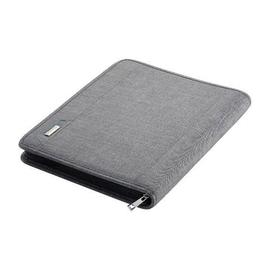 Orgamappe mit Reißverschluß LAZIO A4 grau Polyester Alassio 30116 Produktbild