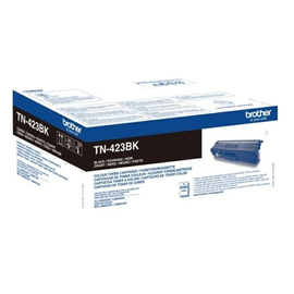 Toner für DCP-L8410CDN/HL-L8260CDW 6500 Seiten schwarz Brother TN-423BK Produktbild