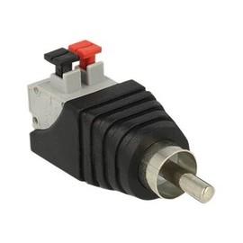 DeLOCK - Audio-Adapter - 2-polige Klemmleiste (M) bis RCA (M) Produktbild