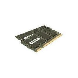 Crucial - DDR2 - 2 GB: 2 x 1 GB - SO DIMM 200-PIN - 800 MHz / PC2-6400 - CL6 Produktbild