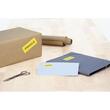 Etiketten Ink Jet+Laser+Kopier 105x37mm auf A4 Bögen gelb permanent Herma 4256 (PACK=1600 STÜCK) Produktbild Additional View 3 S