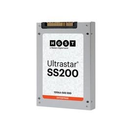 "HGST Ultrastar SS200 SDLL1CLR-016T-CCA1 - Solid-State-Disk - 1.6 TB - intern - 2.5"" SFF (6.4 cm SFF) - SAS 12Gb/s Produktbild"