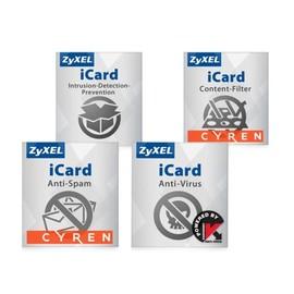 Zyxel E-iCard Content Filtering+Anti-Spam and Kaspersky AV+IDP - URL-Datenbankaktualisierung - Produktbild