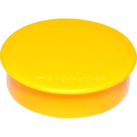 Haftmagnete ø 32mm 800g Haftkraft gelb 4804 (PACK=10 STÜCK) Produktbild
