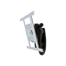 Ergotron LX HD Wall Mount Pivot - Befestigungskit (Pivot, Knopf) für TV - Schwarz - Bildschirmgröße: bis zu 106,7 Produktbild