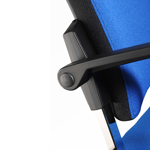 Besucherstuhl Premium 1 4-Fuß blau BestStandard (SET=2 STÜCK) Produktbild Additional View 2 L