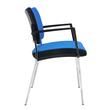 Besucherstuhl Premium 1 4-Fuß blau BestStandard (SET=2 STÜCK) Produktbild Additional View 1 S