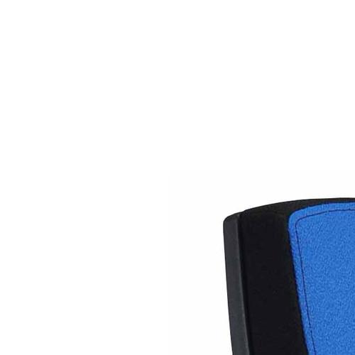Besucherstuhl Premium 1 4-Fuß blau BestStandard (SET=2 STÜCK) Produktbild Additional View 4 L