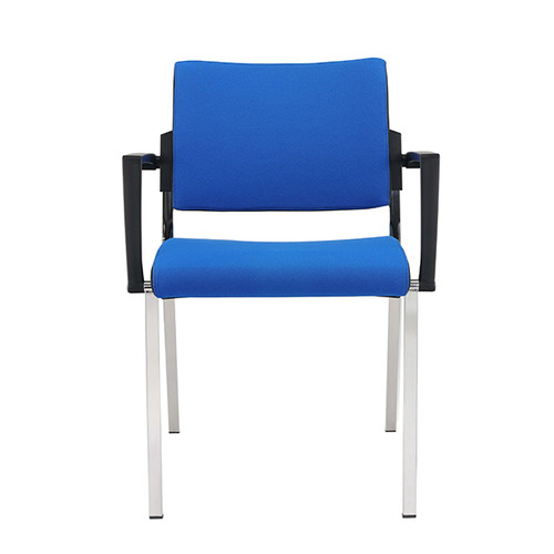 Besucherstuhl Premium 1 4-Fuß blau BestStandard (SET=2 STÜCK) Produktbild Additional View 5 L