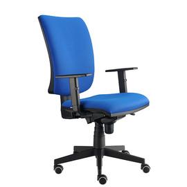 Drehstuhl Solid 1 VSDS1 mit Armlehnen blau BestStandard Produktbild