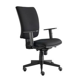 Drehstuhl Solid 1 VSDS1 mit Armlehnen schwarz BestStandard Produktbild