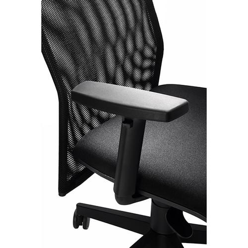 Drehstuhl Solid 2 VSDS2 mit Armlehnen schwarz BestStandard Produktbild Additional View 4 L