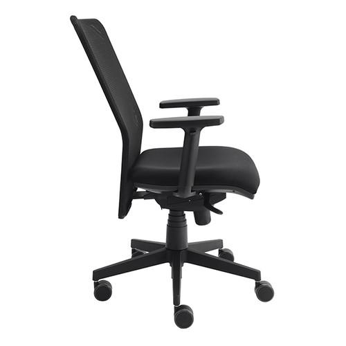 Drehstuhl Solid 2 VSDS2 mit Armlehnen schwarz BestStandard Produktbild Additional View 1 L