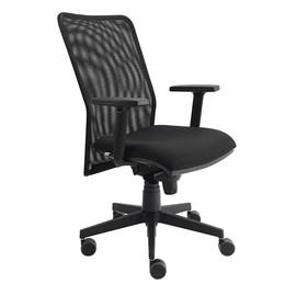 Drehstuhl Solid 2 VSDS2 mit Armlehnen schwarz BestStandard Produktbild