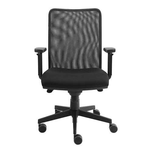 Drehstuhl Solid 2 VSDS2 mit Armlehnen schwarz BestStandard Produktbild Additional View 3 L