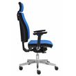 Drehstuhl Premium 1 VSDP1 mit Armlehnen blau BestStandard Produktbild Additional View 1 S