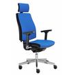 Drehstuhl Premium 1 VSDP1 mit Armlehnen blau BestStandard Produktbild