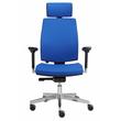 Drehstuhl Premium 1 VSDP1 mit Armlehnen blau BestStandard Produktbild Additional View 2 S