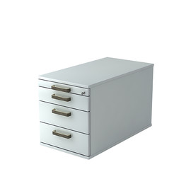 Rollcontainer TC30 SG 42,8x51,2x80cm Korpus/Front grau BestStandard Produktbild