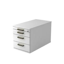 Rollcontainer TC30 SG 42,8x51,2x80cm Korpus/Front weiß BestStandard Produktbild