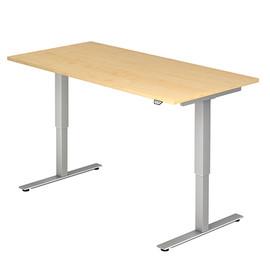 Schreibtisch elektrisch verstellbar 160x80cm ahorn BestStandard Produktbild