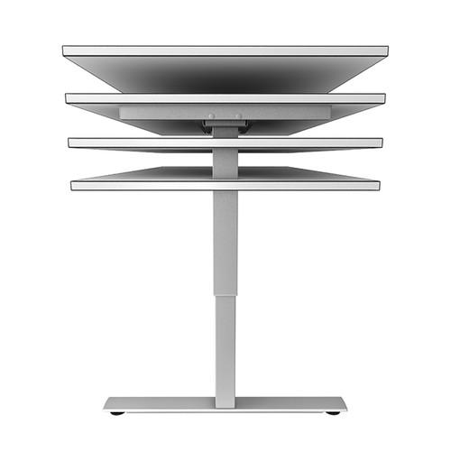 Schreibtisch elektrisch verstellbar 160x80cm weiß BestStandard Produktbild Additional View 1 L