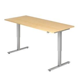 Schreibtisch elektrisch verstellbar 180x80cm ahorn BestStandard Produktbild