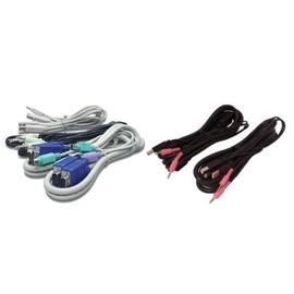 Avocent - Tastatur- / Video- / Maus- / Audio-Kabel - USB, HD-15 (VGA), Mini-Stecker (M) bis HD-15 (VGA), USB Produktbild