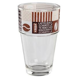 Latte Macchiato Glas Coffee Love 13,5cm 380ml XAVAX 0011128 (PACK=9 STÜCK) Produktbild