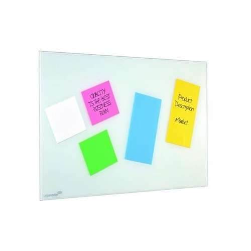 Folien Haftnotizen Magic Chart Notes 10x10cm blau Legamaster 7-159510 (PACK=100 BLATT) Produktbild Additional View 2 L