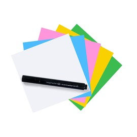 Folien Haftnotizen Magic Chart Notes 10x10cm sortiert Legamaster 7-159594 (PACK=250 BLATT) Produktbild