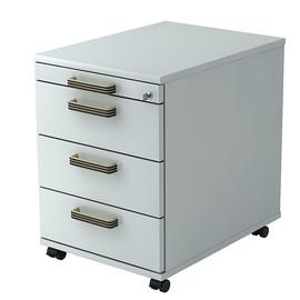 Rollcontainer AC30 SG 42,8x58x59cm Korpus/Front grau BestStandard Produktbild