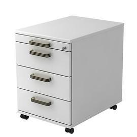 Rollcontainer AC30 SG 42,8x58x59cm Korpus/Front weiß BestStandard Produktbild