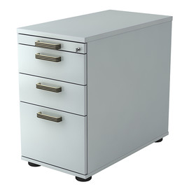 Standcontainer SC40 SG 42,8x72-76x80cm Korpus/Front grau BestStandard Produktbild