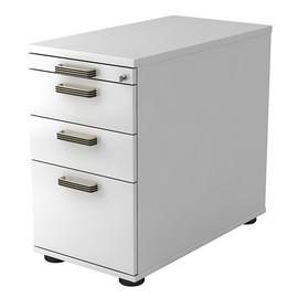 Standcontainer SC40 SG 42,8x72-76x80cm Korpus/Front weiß BestStandard Produktbild