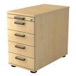 Standcontainer SC50 SG 42,8x72-76x80cm Korpus/Front ahorn BestStandard Produktbild