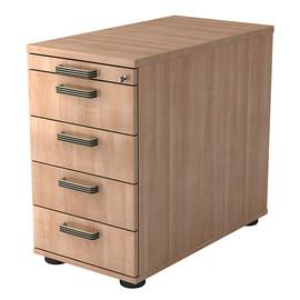Standcontainer SC50 SG 42,8x72-76x80cm Korpus/Front nussbaum BestStandard Produktbild