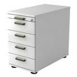 Standcontainer SC50 SG 42,8x72-76x80cm Korpus/Front weiß BestStandard Produktbild