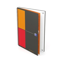 Collegeblock Oxford Notebook Connect B5 kariert 80 Blatt 90g Optik Paper weiß 400080784 Produktbild