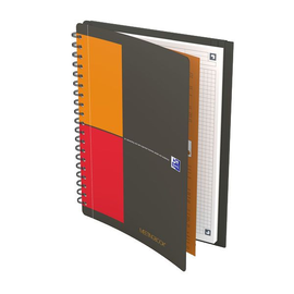 Meetingbook Oxford Connect B5 kariert 80 Blatt 90g Optik Paper weiß 400080788 Produktbild