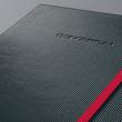 Notizbuch CONCEPTUM Red Edition Hard- cover kariert A4 213x295mm 194 Seiten schwarz/ rot Hardcover Sigel CO660 Produktbild Additional View 5 S
