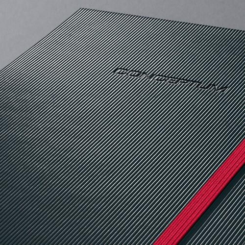 Notizbuch CONCEPTUM Red Edition Hard- cover kariert A4 213x295mm 194 Seiten schwarz/ rot Hardcover Sigel CO660 Produktbild Additional View 5 L