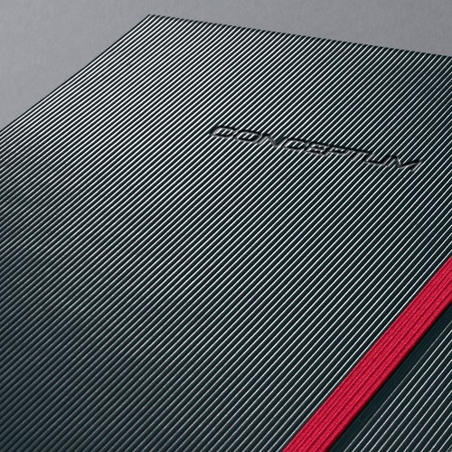 Notizbuch CONCEPTUM Red Edition Hard- cover kariert A5 148x213mm 194 Seiten schwarz/rot Hardcover Sigel CO662 Produktbild Additional View 5 L
