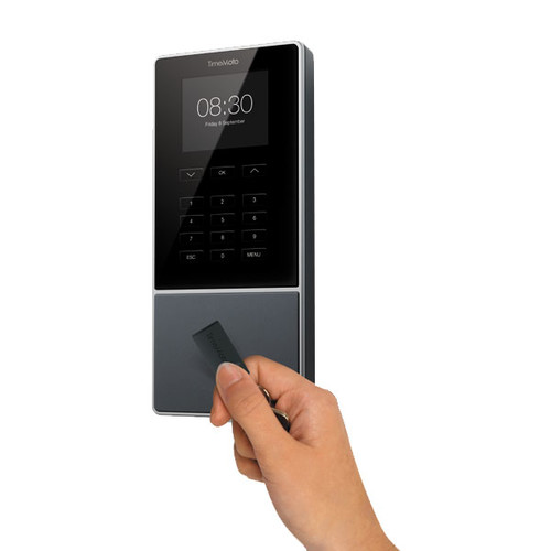 Zeiterfassungssystem mit RFID Kartenleser + PIN inkl. Standard- Software Safescan TM-616 Produktbild Additional View 2 L