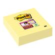 Haftnotizen Post-it Super Sticky Notes 101x101mm liniert gelb Papier 3M 675-3SCY (PACK=3x70 BLATT) Produktbild