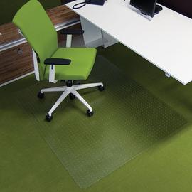 Bodenschutzmatte ecogrip für Teppich- böden Form O rechteckig 150x120cm, 1,8mm stark transparent Makrolon RS 11-150O Produktbild