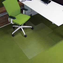 Bodenschutzmatte ecogrip für Teppich- böden Form L 150x120cm, 1,8mm stark transparent Makrolon RS 11-150L Produktbild
