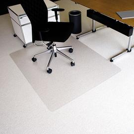 Bodenschutzmatte ecoblue für Teppich- böden Form O rechteckig 150x120cm, 2,1mm stark transparent PET RS 07-150O Produktbild