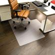 Bodenschutzmatte ecoblue für Hart- böden Form L 120x150cm, 1,8mm stark transparent PET RS 08-150L Produktbild